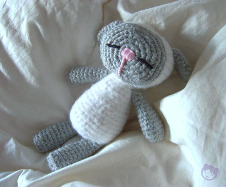Amigurumi Sleeping Sheep : Sleeping Baby Sheep amigurumi by Veka37 on DeviantArt
