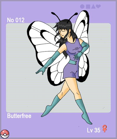 Butterfree by jav123 on DeviantArt
