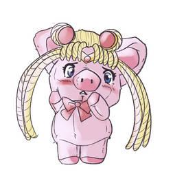 Sailor Moon Plush Piggy TF