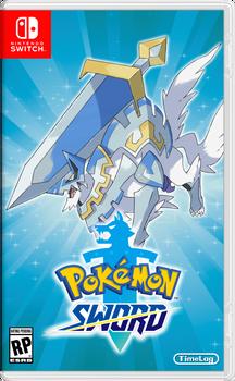 Pokmon Sword Retail Box Art for Nintendo Switch by TimeLag