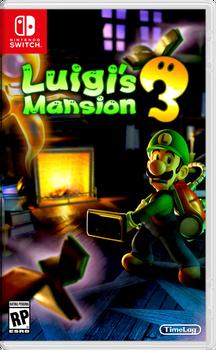 Luigis Mansion 3 Retail Box Art by TimeLag