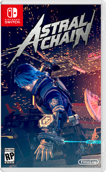 Astral Chain Retail Box Art for Nintendo Switch by TimeLag