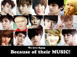 because of their music II