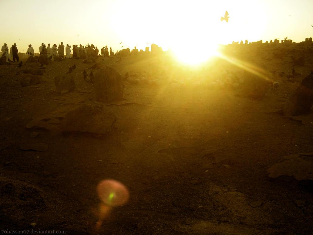 The morning sun in Baki'e by 70hassan07