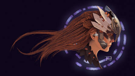 Aloy Horizon: Zero Dawn Fanart by DrawingisLife92