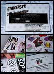 Final version of stickerbook by Dekst0