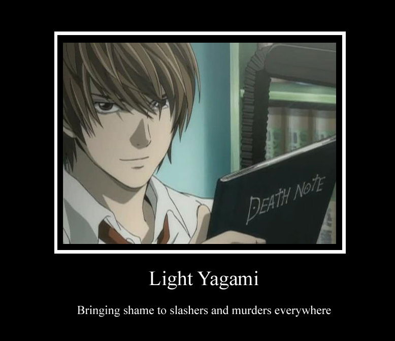 Light Yagami Meaning Gallery