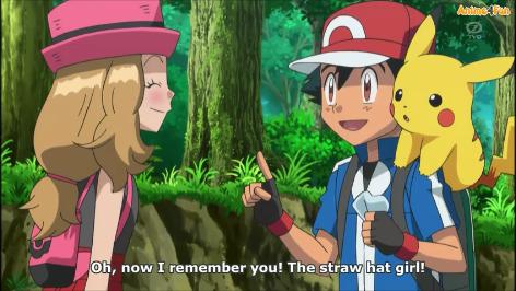 Ash recuerda a Serena by AngyLopez