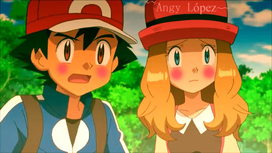 The Gallery For Gt Ash And Serena Childhood Friends