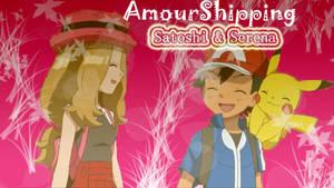 AmourShipping Satoshi x Serena by AngyLopez