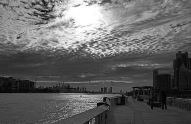 Skyline Miami by Bellax20yp