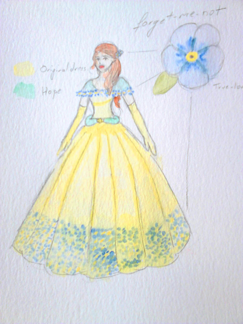Beauty And Beast 2017 Belle Concept Dress By Sagitta Rose