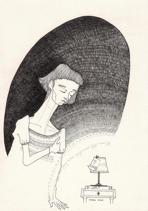 Amelie's sorrow by minnamr