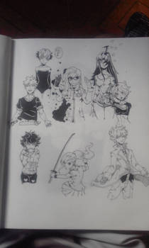 hand-made characters