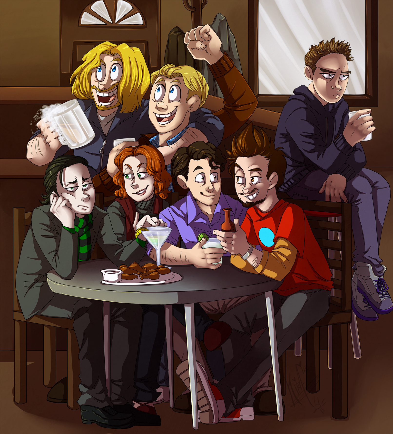 Shawarma Party by vltraviolet