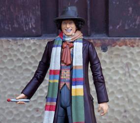 4th Doctor Tom Baker repaint 2 by LYazoo