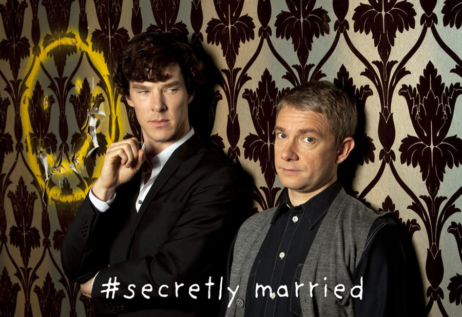 Johnlock: Secretly married. by BeccaLilyJoyce