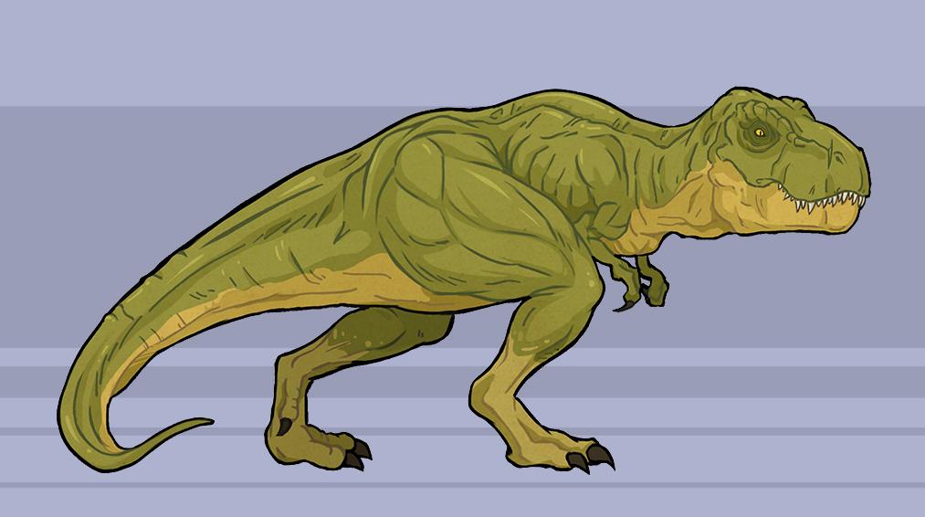 Tyrannosaurus Rex by xszwhr