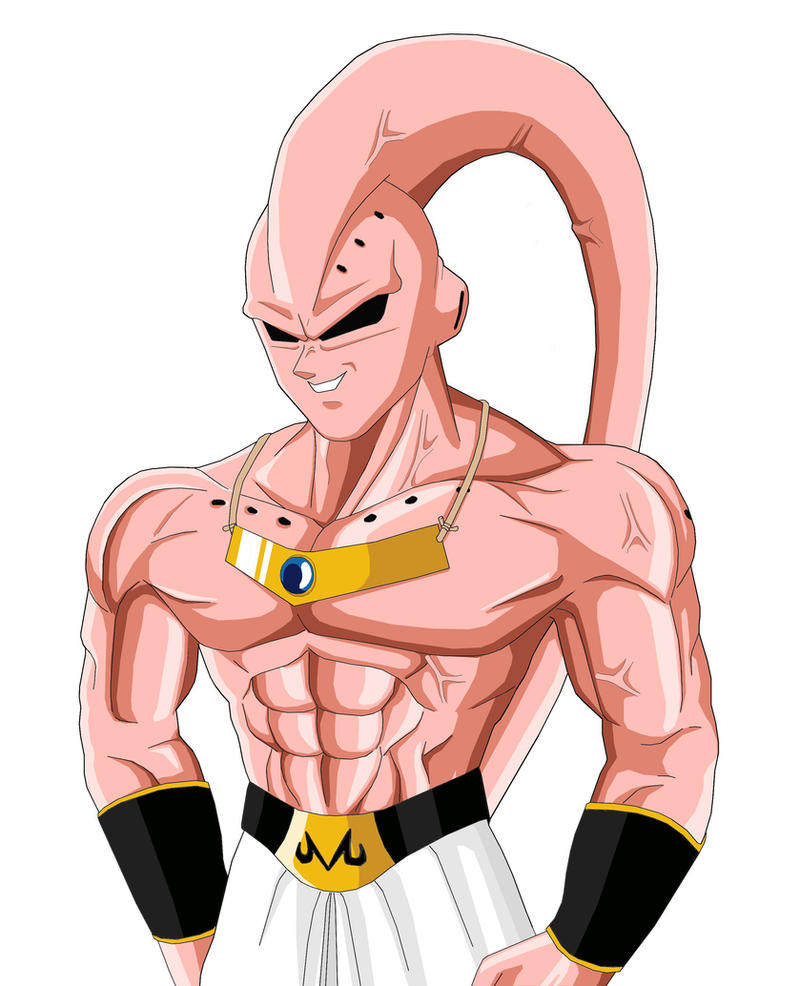 Majin Ken Buu_Boo_with_absorbed_Broly_by_NovaSayajinGoku