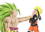 Broly SSJ3 vs Naruto