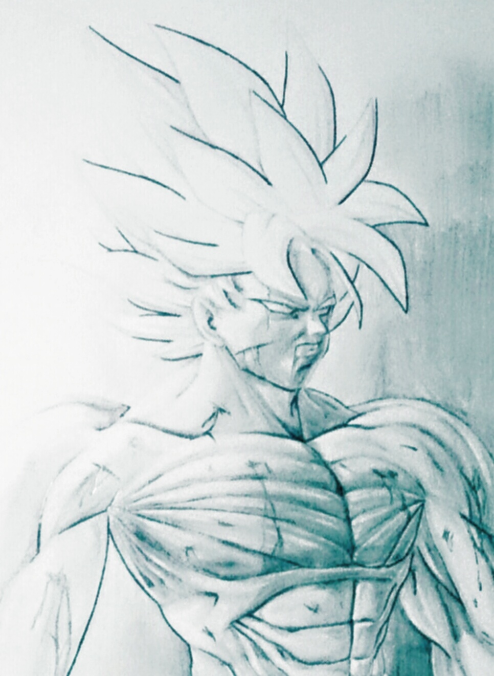 Goku Battle Damaged By Novasayajingoku On Deviantart