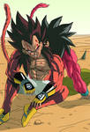 Goku and Vegeta Afterfight