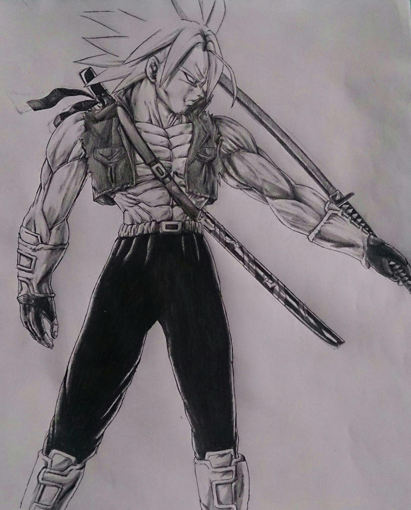 Trunks SSJ Katana by NovaSayajinGoku