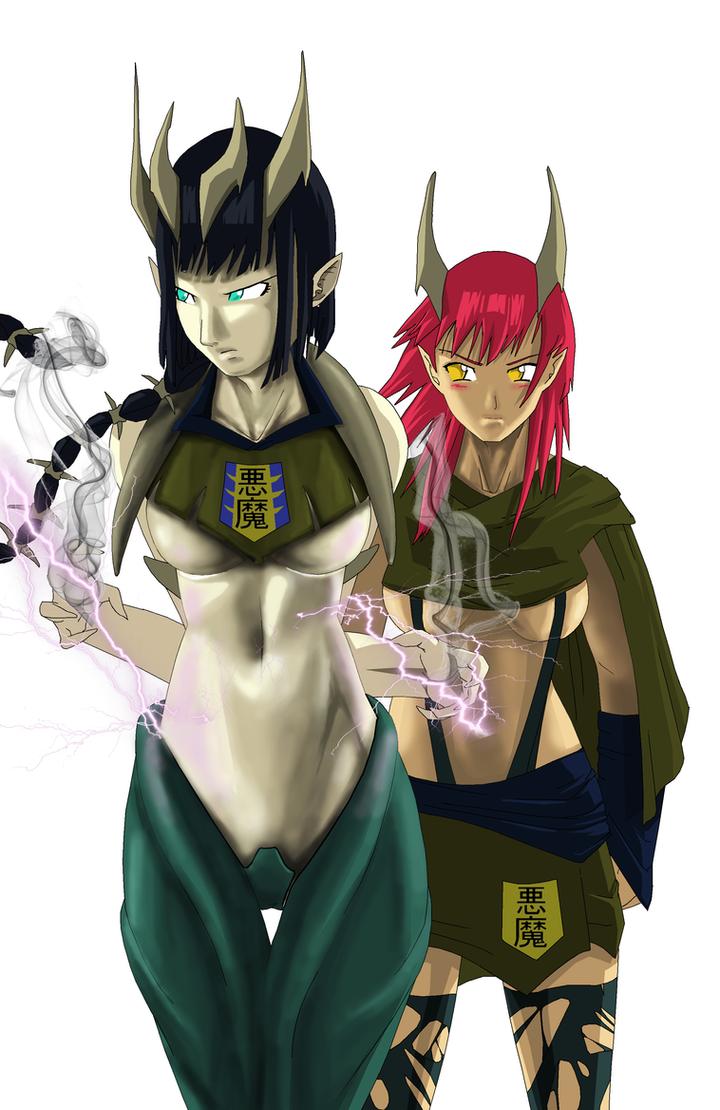 Demon Queen plans to awake Ryushen by NovaSayajinGoku