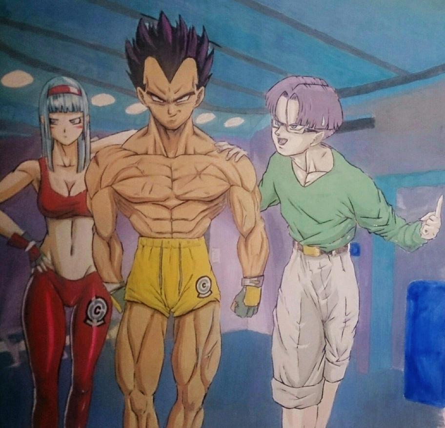 Mr. Brief and his Children by NovaSayajinGoku