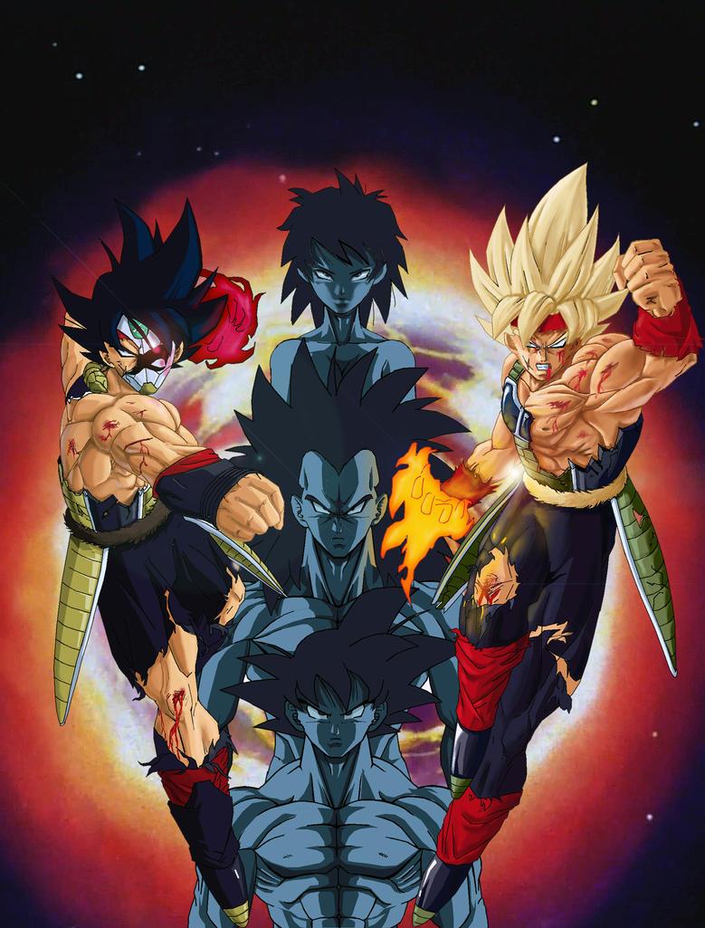 Bardock and his Family by NovaSayajinGoku