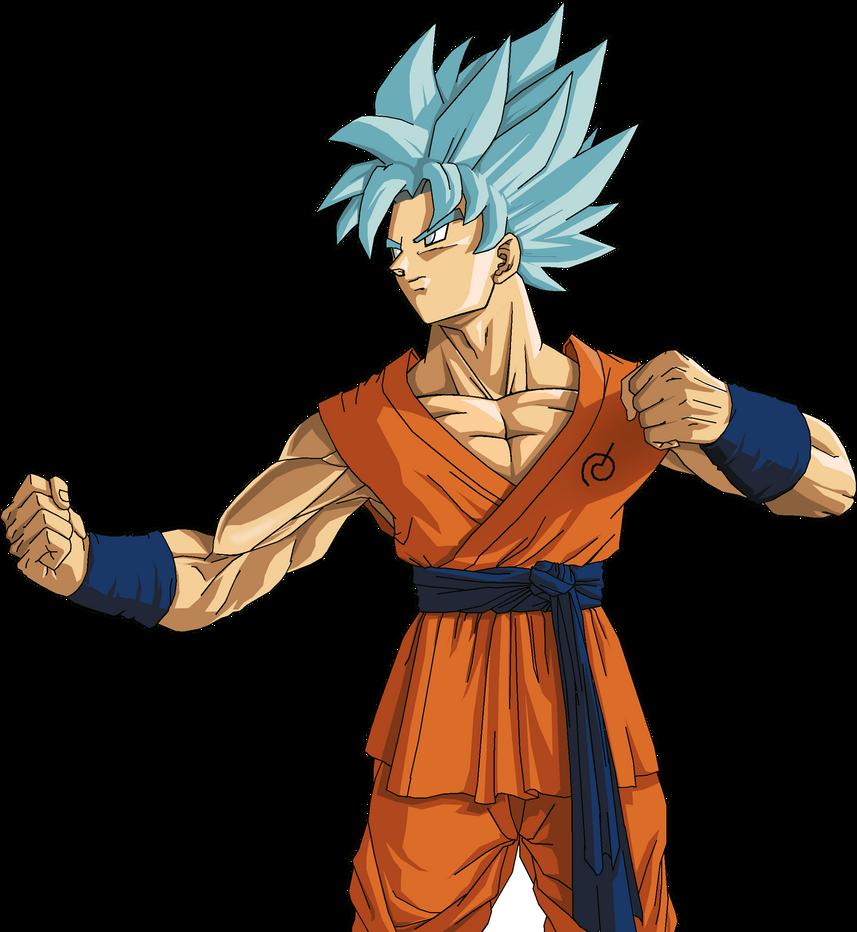 Goku Super Saiyan God Super Saiyan by NovaSayajinGoku