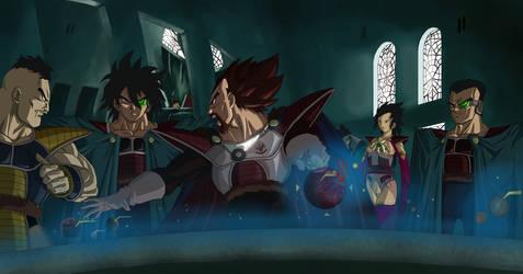 King Vegeta the Strategist by NovaSayajinGoku