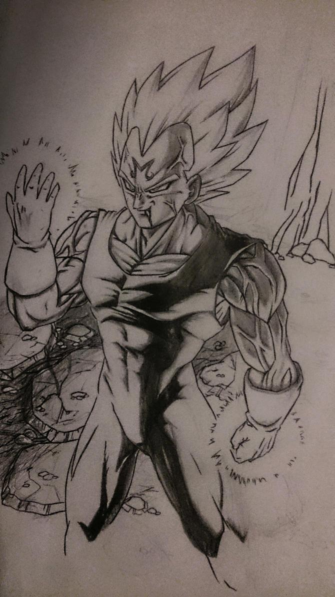 Majin Vegeta by NovaSayajinGoku