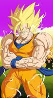 Son Goku Super Saiyan Third Grade