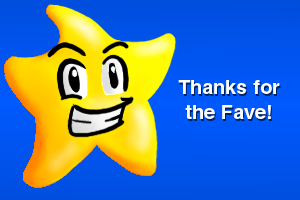 Thanks For The Fave by Dee-Artist