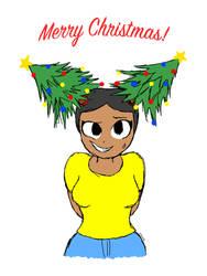 Debra's Christmas Trees by Dee-Artist