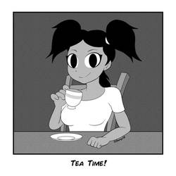 DeeKyDebs-Tea Time by Dee-Artist