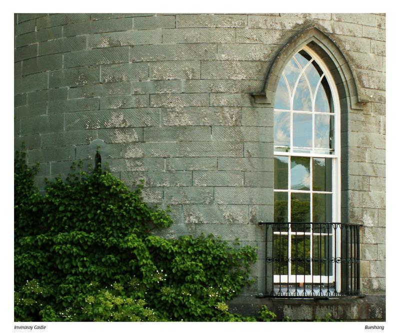 Castle Window Castle window by bueshang
