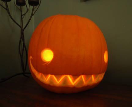 My first pumpkin