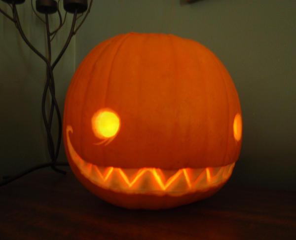 My first pumpkin by Bueshang