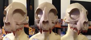 WIP - Cat Skull Mask 2