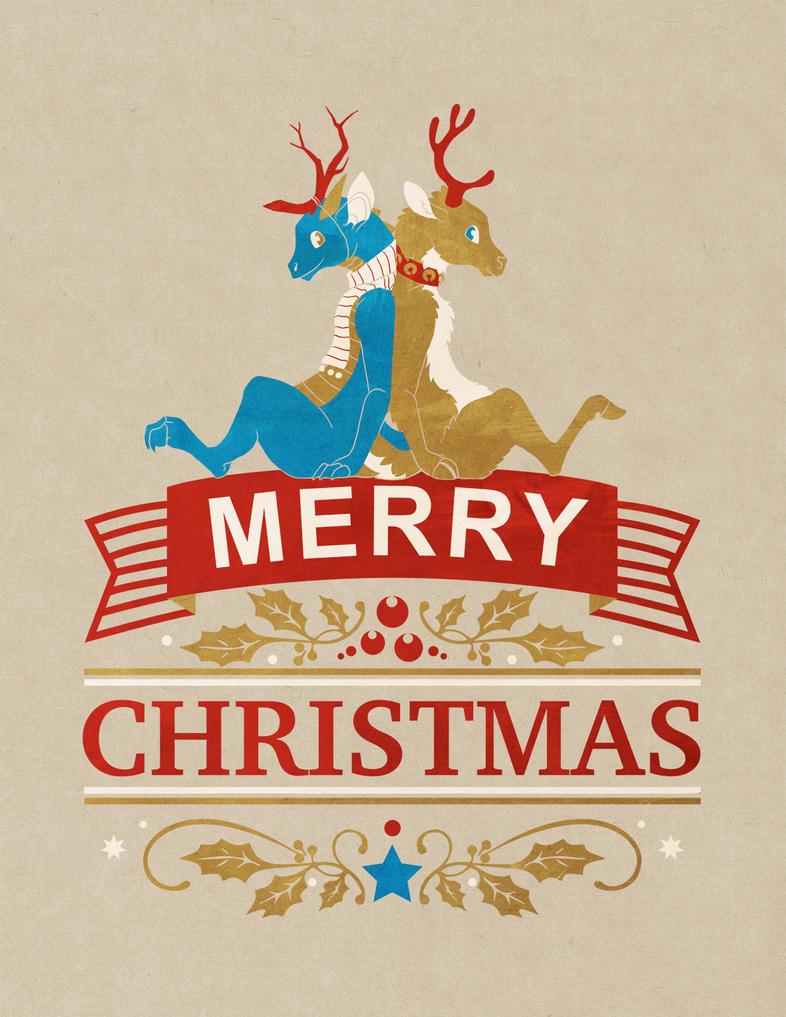 Christmas Card 2014 by Bueshang