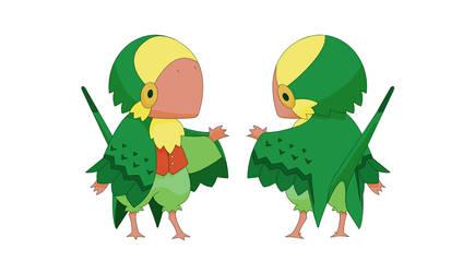 MYO Birdfolk by Bueshang