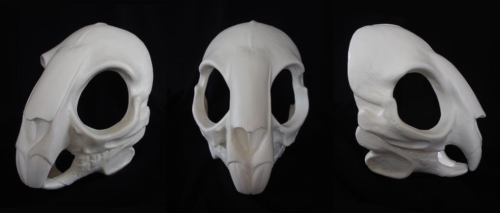 Rodent/Rabbit Skull Mask - blank by Bueshang