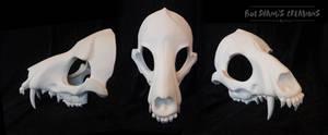 Wolf Skull Mask - Blank by Bueshang