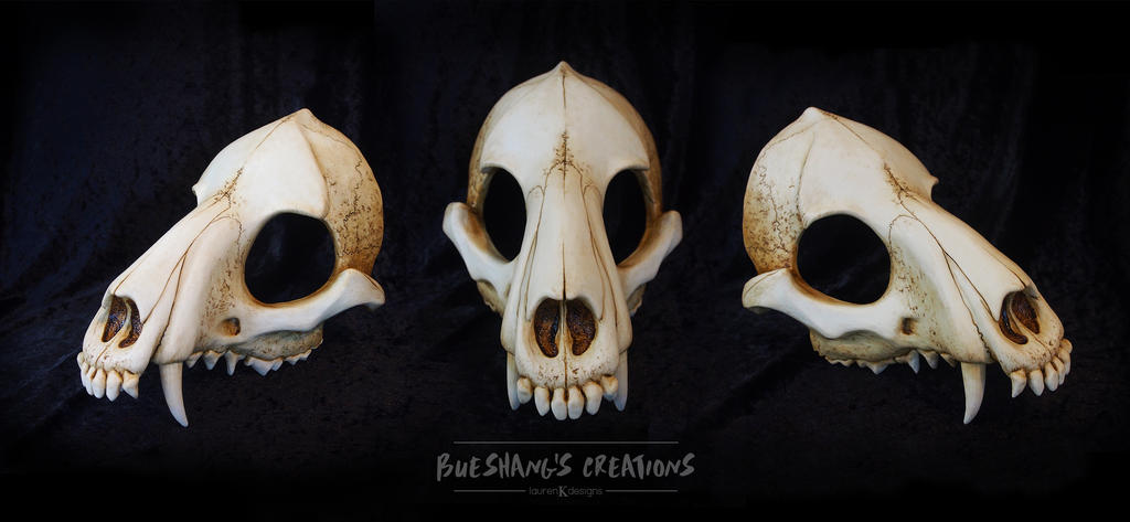 Wolf Skull Mask - Painted by Bueshang on DeviantArt