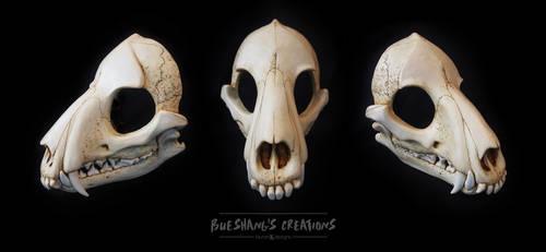 Wolf Skull Mask - Full by Bueshang