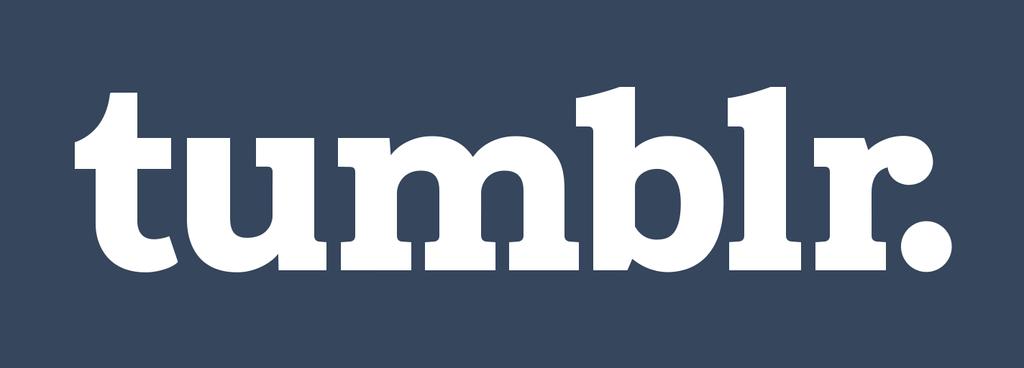 Tumblr Logotype White Blue 512 by Bueshang