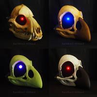 LED Custom Skull Masks by Bueshang