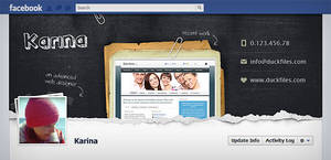 Facebook timeline cover (PSD) by DuckFiles